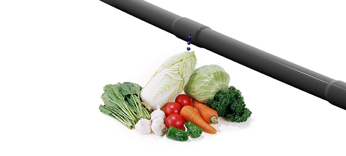 Flat Drip Irrigation Pipe