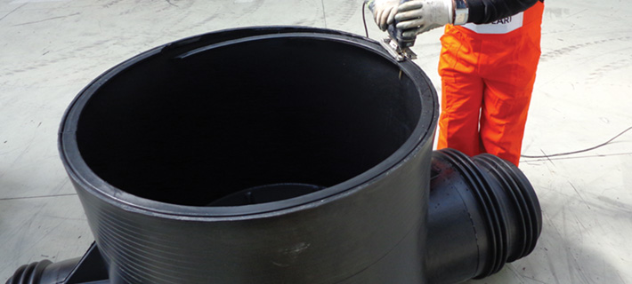 Polyethylene Manhole and Inspection Chambers