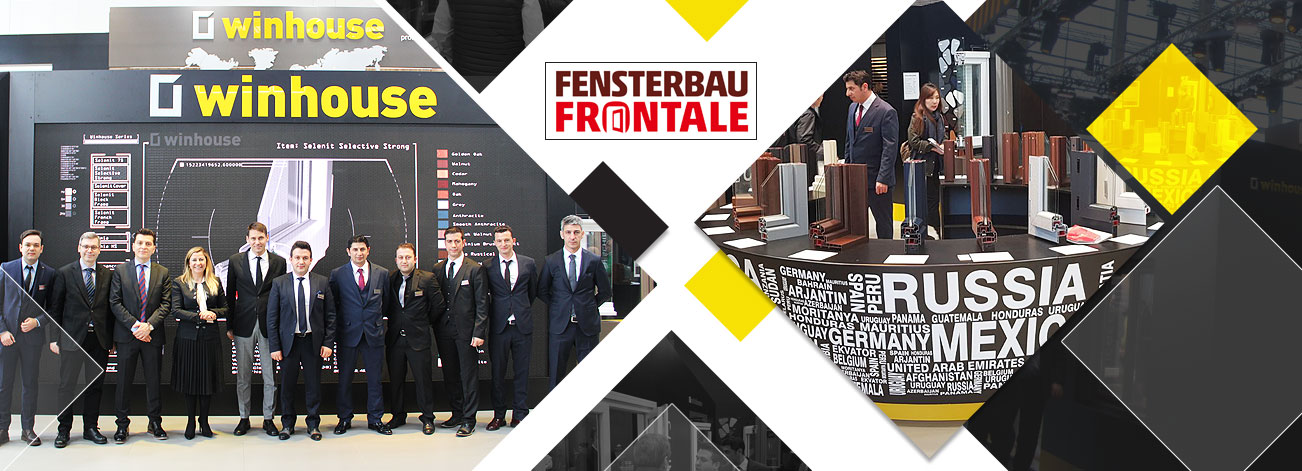Winhouse Successfully Represented Turkey at Fensterbau Frontale.
